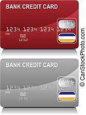 כרטיס אשראי, אדום, כסף