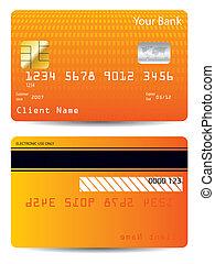 כרטיס אשראי, ארוג, עצב