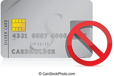 כרטיס אשראי, דוגמה, סרב