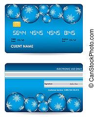 כרטיס אשראי, וקטור, השקע, חזית