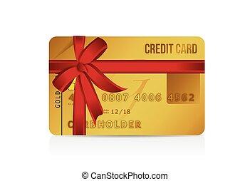 כרטיס, זכה, עצב, מתנה, דוגמה