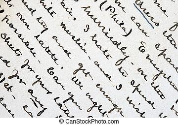 כתוב, דית, לכתוב