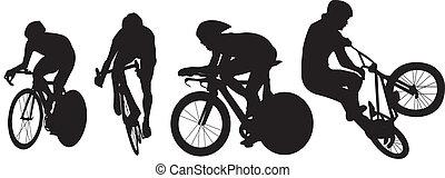 לאפון, צלליות, אופניים