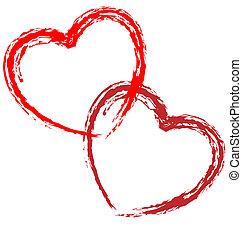 לבבות, קשר, וקטור, אומנותי