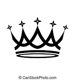 לבן, הכתר, רקע, איקון