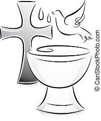 לבן, טבילה, שחור