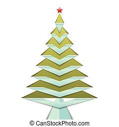 לבן, עץ, הפרד, רקע, חג המולד