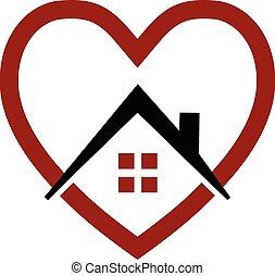 לב, דיר, וקטור, לוגו