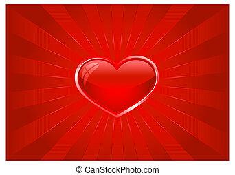 לב, התפוצץ, אור אדום