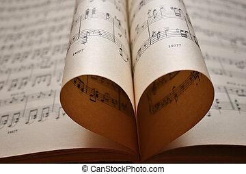 לב, רואה, מוסיקה