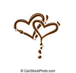 לב, שוקולד