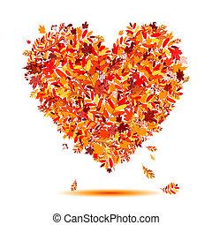 לב, autumn!, עוזב, עצב, אהוב, לפול
