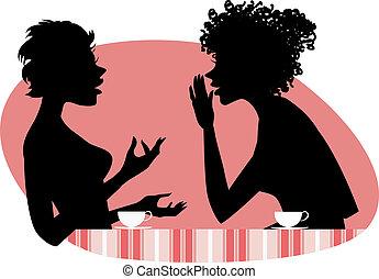 לדבר, שתי נשים