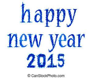 להבה כחולה, שנה, 2015, חדש, שמח