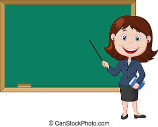 להעמיד נקבה, ציור היתולי, nex, מורה