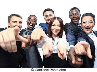 להצביע, אנשים של עסק, צעיר, דמות, אתה, רגש