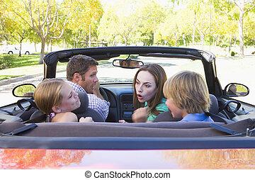 להתווכח, מכונית, הפיך, משפחה