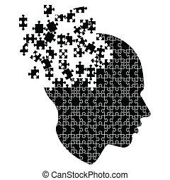 להתפוצץ, מוח, רעיונות