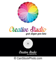 לוגו, אולפן, דפוסית, יצירתי