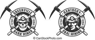לוגו, כורה, בציר, פחם