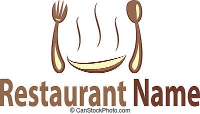 לוגו, מסעדה