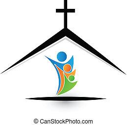 לוגו, משפחה, כנסייה
