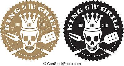 לוגו, צלה, צלה, מלך