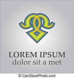 לוגו, תקציר, template., ענוב