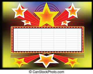 לוח מודעות, כוכבים