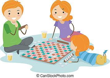 לוח של משחק