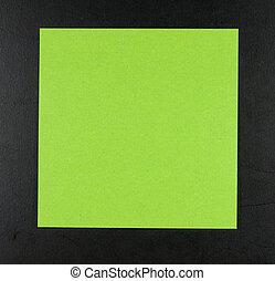 לוח, postit, ירוק