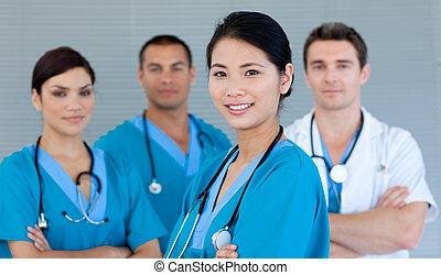 לחייך, מצלמה, התחבר, רפואי
