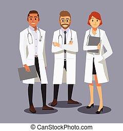 לחייך, רופאים, צוות רפואי