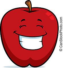 לחייך, תפוח עץ
