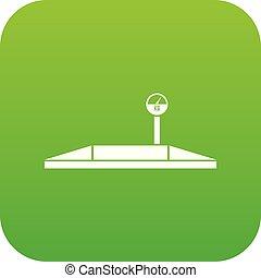 לחנות, דיגיטלי, ירוק, איקון, סולמות