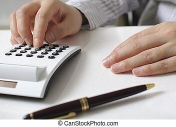 לחשב הוצאות, אישת עסקים