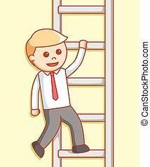 לטפס, דוגמה של איש, עסק