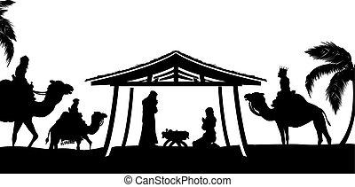לידה, קטע של חג ההמולד