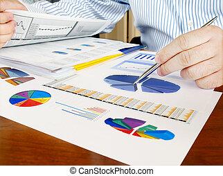 לנתח, השקעה, charts.