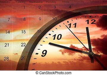 לעבור זמן