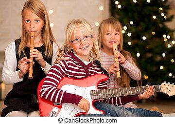 לעשות מוסיקה, ילדים, חג המולד