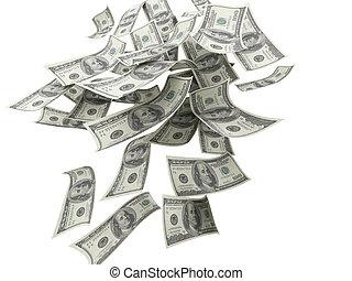 לפול כסף, חשבונות, $100