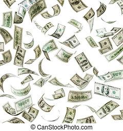 לפול, מאות דולר, כסף, חשבונות