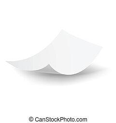 לפול נייר, sheet.