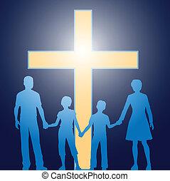 לפני, נוצרי, משפחה, לעמוד, זוהר, עובר