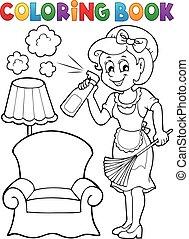 לצבוע ספר, בעלת בית