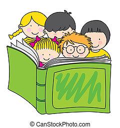 לקרוא, ילדים, הזמן