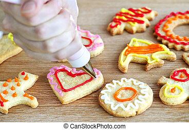 לקשט, עוגיות