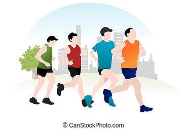לרוץ, דוגמה