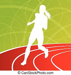 לרוץ, כושר גופני, לרוץ, נשים